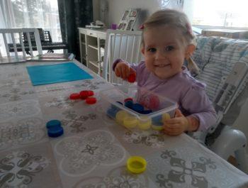 Ala również pracuje w domu ;)