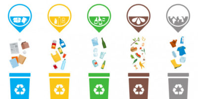 Śmieci, recykling dla Żabek